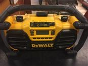 DEWALT DC012 7.2-VOLT TO 18-VOLT HEAVY-DUTY WORKSITE CHARGER RADIO